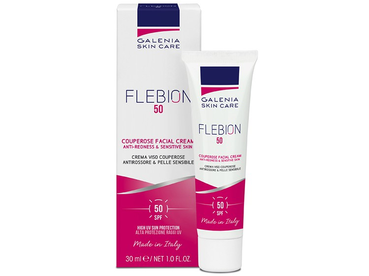 FLEBION 50 (redness & couperose facial cream - SPF 50)